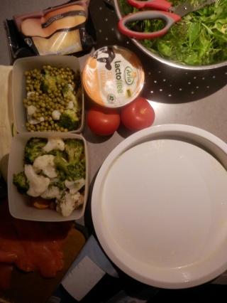 Koken met restjes. Restverwerking. Quiche. Groentetaart.
