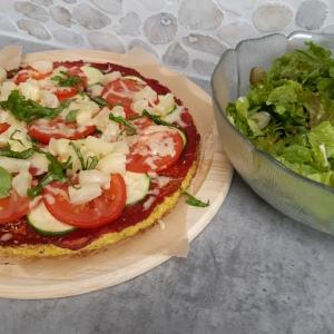 Recept bloemkoolpizza