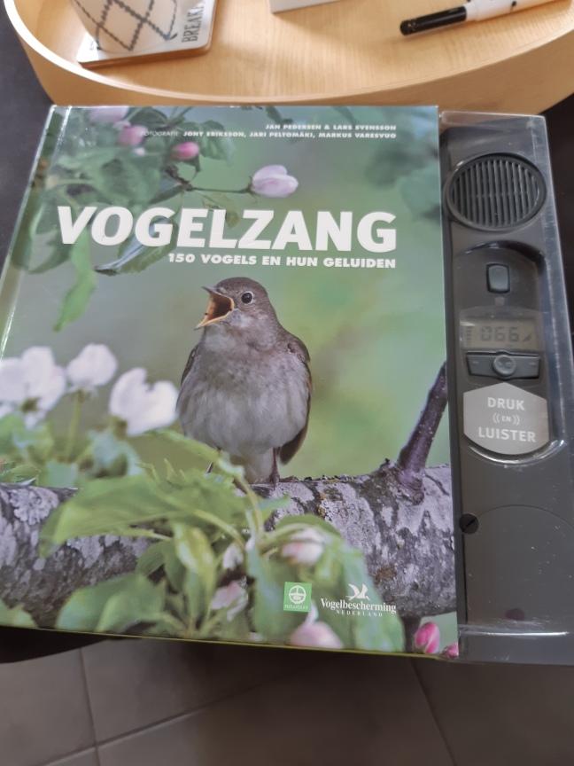 Boek vogelzang