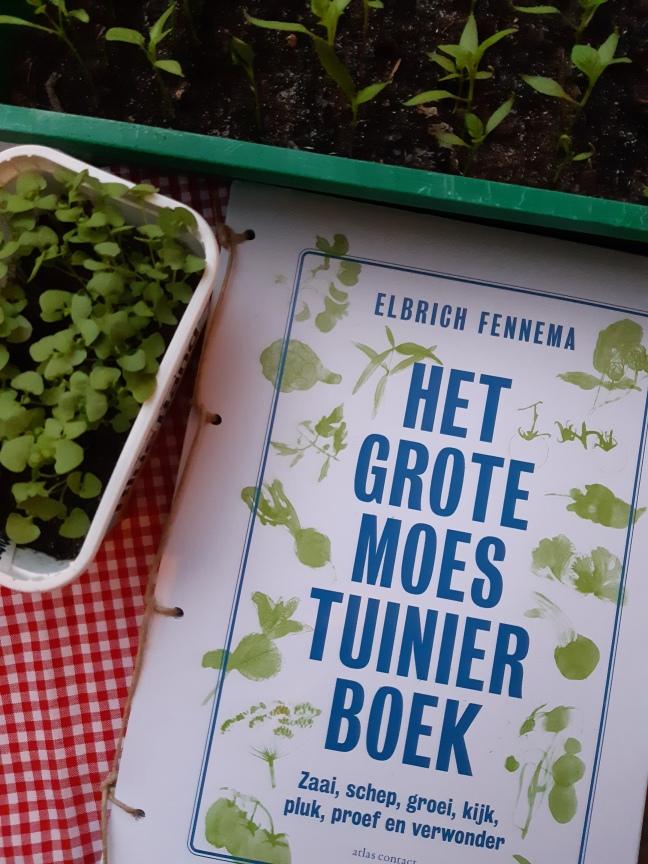Het grote moestuinierboek- Elbrich Fennema