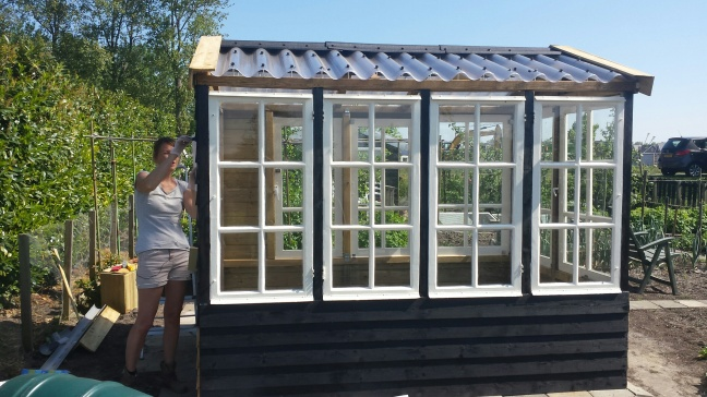 DIY: zelf een tuinkas of serre bouwen